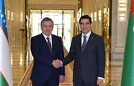 Heads of Turkmenistan, Uzbekistan discuss prospects for co-op