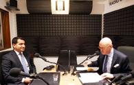 Head of Azerbaijan's Presidential Administration department gives interview to French Radio
