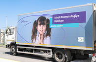 "Azercell Telecom releases report on Mobile Dental Clinic <span class=""color_red"">[PHOTO]</span>"