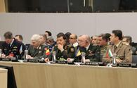 "Azerbaijani military official attends meeting at NATO Headquarters <span class=""color_red"">[PHOTO]</span>"