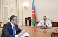 "President Ilham Aliyev receives Minister of Transport, Communications and High Technologies <span class=""color_red"">[UPDATE]</span>"