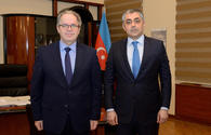 Azerbaijan, Latvia discuss co-op on ICT