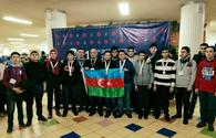 Major achievements of Azerbaijani schoolchildren at Int'l Olympiad with Azercell's support