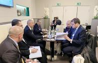 President Ilham Aliyev meets EBRD President in Davos