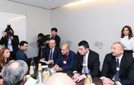 "President Ilham Aliyev attends session as part of World Economic Forum <span class=""color_red"">[PHOTO]</span>"