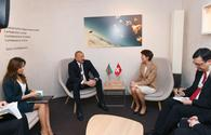 "President Ilham Aliyev meets Swiss President Simonetta Sommaruga in Davos <span class=""color_red"">[UPDATE]</span>"