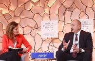 President Ilham Aliyev in Davos reminds about Baku's foreign policy priorities to world
