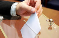 Ballots for parliamentary elections issued