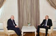 "President Ilham Aliyev receives OSCE Parliamentary Assembly president <span class=""color_red"">[UPDATE]</span>"