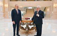 """President Ilham Aliyev presents &quot;Sharaf&quot; Order to Mikhail Gusman <span class=""""color_red"""">[UPDATE]</span>"""