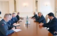 """President Ilham Aliyev receives delegation led by NATO Supreme Allied Commander Europe <span class=""""color_red"""">[PHOTO]</span>"""
