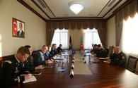 """Azerbaijani Army chief meets with Supreme Allied Commander Europe <span class=""""color_red"""">[PHOTO/VIDEO]</span>"""