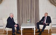 "President Ilham Aliyev receives head of CIS observation mission <span class=""color_red"">[UPDATE]</span>"