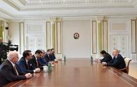 "President Aliyev receives delegation led by head of Turkey-Azerbaijan interparliamentary friendship group <span class=""color_red"">[UPDATE]</span>"