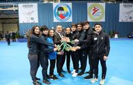 Azerbaijani karatekas win four gold in Hungary