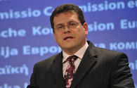 Efforts to bring Caspian gas to Europe entering final stretch - Sefcovic