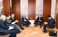 "President Ilham Aliyev meets World Bank Managing Director in Munich <span class=""color_red"">[UPDATE]</span>"