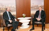"President Ilham Aliyev meets president, CEO of Int'l Crisis Group in Munich <span class=""color_red"">[UPDATE]</span>"