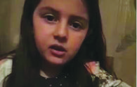 Azerbaijani girl from occcupied Shusha makes heartfelt video