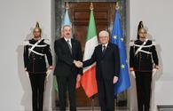 "Official welcome ceremony held for Azerbaijani president in Rome <span class=""color_red"">[PHOTO/VIDEO]</span>"