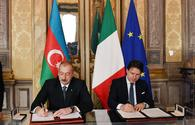 "Azerbaijan, Italy exchange documents <span class=""color_red"">[PHOTO]</span>"