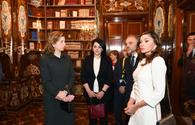 "Azerbaijan's First Lady Mehriban Aliyeva views Quirinale Palace in Rome <span class=""color_red"">[PHOTO]</span>"