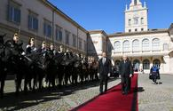 "Official seeing-off ceremony held for President Ilham Aliyev in Rome <span class=""color_red"">[PHOTO]</span>"