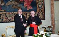 "President Ilham Aliyev meets Vatican Secretary of State Cardinal Pietro Parolin <span class=""color_red"">[UPDATE]</span>"
