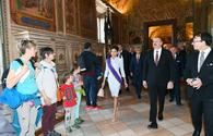 "President Ilham Aliyev and First Lady view Sistine Chapel and St. Peter's Basilica in Vatican <span class=""color_red"">[UPDATE]</span>"