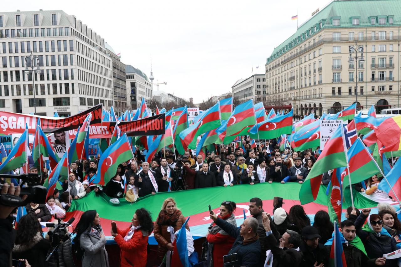 Eu Wide Karabakh Rally Held In Berlin Photo