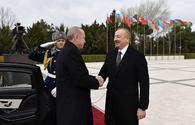 "Turkish President Recep Tayyip Erdogan arrives in Baku <span class=""color_red"">[PHOTO]</span>"