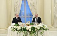 "President Ilham Aliyev hosts reception in honor of Turkish President <span class=""color_red"">[PHOTO]</span>"