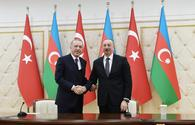 "Azerbaijan, Turkey to boost trade volume to $15bn <span class=""color_red"">[UPDATE]</span>"