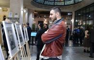 "Famous artist displays his graphic works in Baku <span class=""color_red"">[PHOTO]</span>"