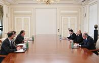 "President Ilham Aliyev receives  US Deputy Assistant Secretary for Energy Diplomacy <span class=""color_red"">[PHOTO]</span>"