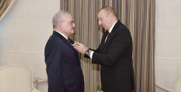 """Ilham Aliyev presents Order """"For Service to Motherland"""" 1st Class to Artur Rasizade <span class=""""color_red"""">[PHOTO]</span>"""