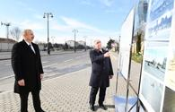 "Azerbaijani president attends opening of underground pedestrian crossing <span class=""color_red"">[PHOTO]</span>"