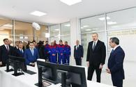"""President Aliyev inaugurates new infrastructure projects in Shamkir <span class=""""color_red"""">[UPDATE]</span>"""