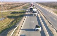 "Azerbaijan secures its truck drivers with traffic police <span class=""color_red"">[PHOTO/VIDEO]</span>"