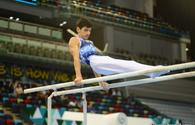 Azerbaijani gymnasts reach final of AGF Junior Trophy International Tournament in parallel bars exercise