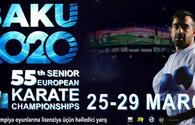 Baku to host 55th European Karate Championship