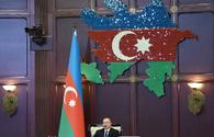 "President Ilham Aliyev: Parliamentary elections showed again that people value our political course highly <span class=""color_red"">[PHOTO]</span>"