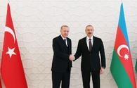 "Azerbaijani, Turkish presidents had telephone conversation <span class=""color_red"">[PHOTO]</span>"