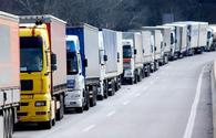 Cargo transportation via road transport revenue up in Azerbaijan