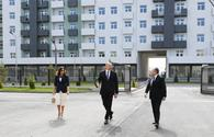 "Azerbaijani president, First Lady attend opening of Hovsan residential complex <span class=""color_red"">[UPDATE]</span>"