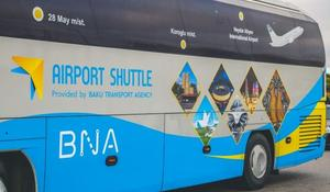 Operation of express buses to airport limited in Azerbaijan
