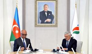 """Azerbaijan's State Oil Company, Equinor sign co-op agreement <span class=""""color_red"""">[PHOTO]</span>"""