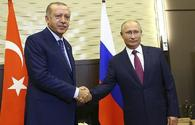 Erdogan, Putin discuss situation in Idlib