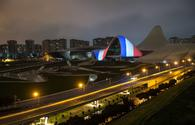 "Heydar Aliyev Center supports France amid COVID-19 outbreak <span class=""color_red"">[PHOTO/VIDEO]</span>"