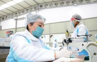 "Azerbaijan launches production of medical masks <span class=""color_red"">[PHOTO/VIDEO]</span>"